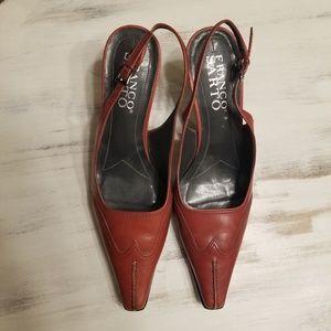 Franco Sarto Red Heels